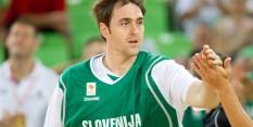 Erazem Lorbek trenira z Olimpijo