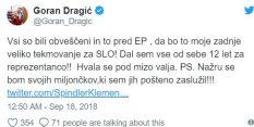 Kdo je tako razjezil Gorana Dragića?
