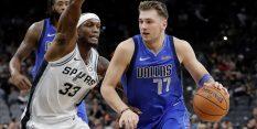 VIDEO: Spursi v Dallasu od -19 do zmage, Dončić
