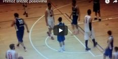VIDEO: Brezcu nešportna, potem pa v pokoj