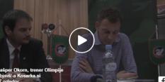 VIDEO: Gašper Okorn brez dlake na jeziku - na