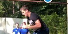 VIDEO: Goran Dragić začel s treningi, vadi kar