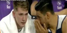 VIDEO: Laso javno okrcal Dončića, ki ga je