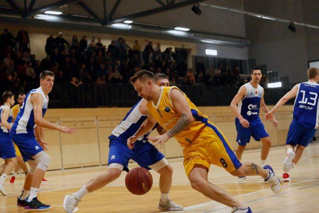 Koštomaj je bil s statističnim indeksom 26 najučinkovitejši košarkar srečanja. (Foto: Facebook/KK Celje)