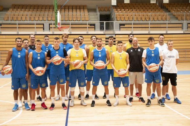 Primorci pripravljeni na novo sezono. (FOTO: KK Koper Primorska/Žiga Mikeli)