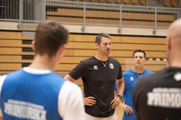 Jurica Golemac bo svoje moštvo poizkušal maksimalno pripraviti na novo sezono. (FOTO: KK Koper Primorska/Žiga Mikeli)