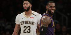 Lakersi plačali visoko ceno za Anthonyja Davisa
