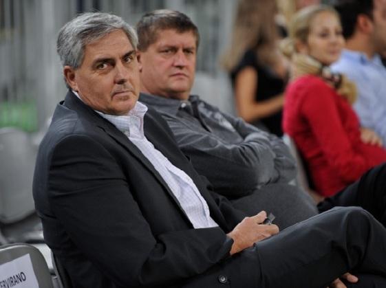 Radovan Lorbek in Roman Lisac. Predsednik in direktor ABA Lige. foto: abaliga.com