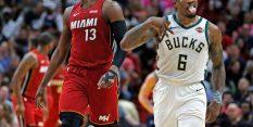 Milwaukee nadigral Heat v drugem polčasu;