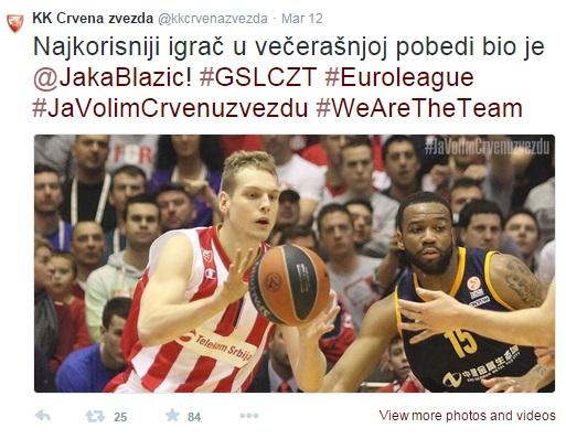 Jaka Blažič MVP