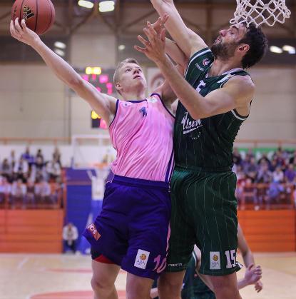 Begić je bil najboljši košarkar Zmajev na gostovanju pri Mega Vizuri. foto: abaliga.com