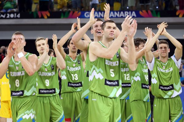 Slovenia Basketball World Cup  Gran Canaria Spain 2014