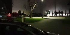 VIDEO: Kar šest policijskih vozil v Šentjur,