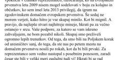 ZDAJ TUDI URADNO: Gogi Dragić za slovensko